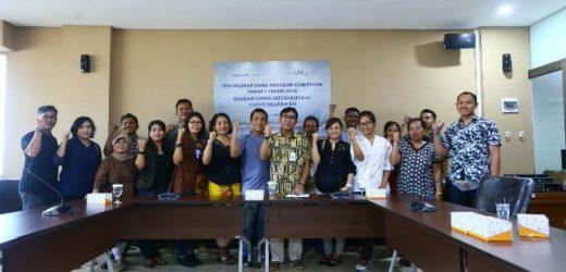 16 Mitra Binaan Kecipratan Dana Program Kemitraan dari Bandara Ngurah Rai