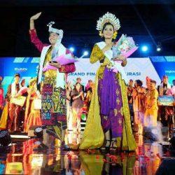 Nyoman Trya Wahyudha dan Komang Ayu Sintya Dewi, Terpilih Sebagai Duta Bandara Terbaik2019