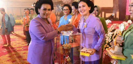 Peringatan HUT Ke-55 Dharma Pertiwi, Panglima TNI: Peran Dharma Pertiwi Bentuk Generasi Penerus Bangsa Berkualitas