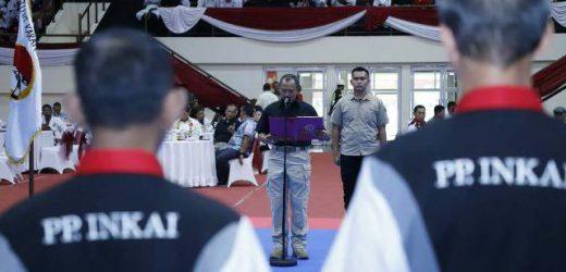 Kukuhkan 66 Pengurus Pusat INKAI, PB FORKI Incar Prestasi di Olimpiade Tokyo 2020