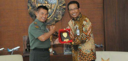 Pemimpin Wilayah BRI Denpasar Silaturahmi dengan Pangdam IX/Udayana