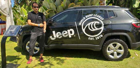 "HasCar Group APM Resmi Merek Jeep® Sponsori World Surfing League ""Corona Bali Protected"""