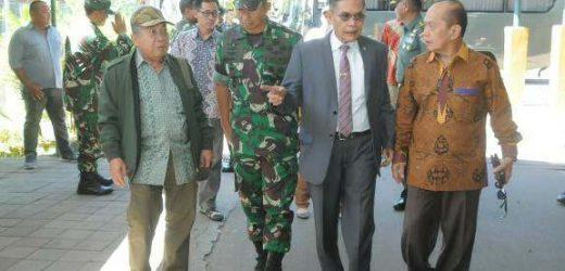 Komisi I DPR RI Tinjau Perumahan Dinas TNI di Wilayah Kodam IX/Udayana TA 2019