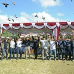 Kicau Mania Se-Jawa Bali Berkompetisi Merebut Piala Pangdam IX/Udayana.