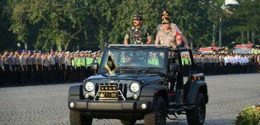 Panglima TNI dan Kapolri Pimpin Apel Gelar Pasukan Operasi Ketupat 2019