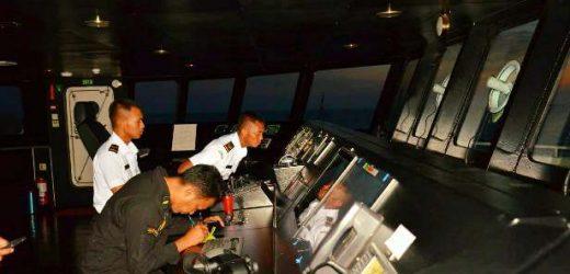 Berlayar ke India, KN Tanjung Datu Asah Kemampuan Calon Pengawak Baru