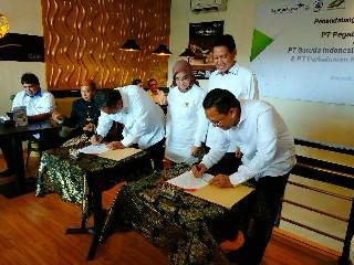 Kerja Sama Komersial Penerbangan Jakarta-Denpasar, Pegadaian Tandatangani Nota Kesepahaman dengan 3 BUMN