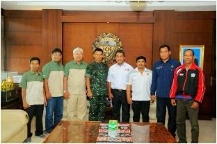 Pangdam IX/Udayana Terima Kunjungan Ketum FOKSI dan PERPANI Bali