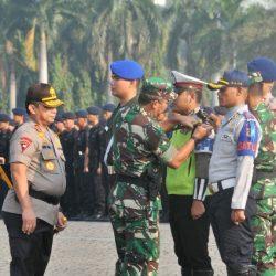 TNI-Polri Gelar Apel Konsolidasi Kesiapan Pengamanan Sidang PHPU