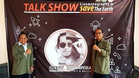 "Talkshow ""Cinematography to Save The Earth"", Fikom Dwijendra Ajak Bikin Film sekaligus Menjaga Lingkungan"