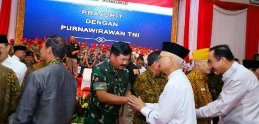 Halal Bihalal Prajurit dan Purnawirawan TNI, Panglima: Purnawirawan TNI Suri Tauladan dan Guru Bangsa