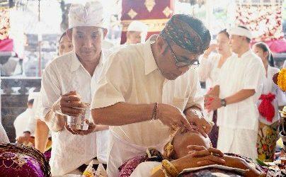 Wawali Jaya Negara Nyanggingin di Banjar Bun
