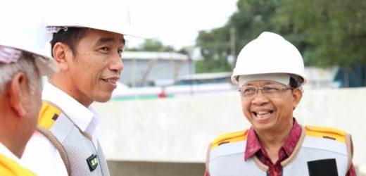 Presiden Jokowi Tinjau Rehabilitasi Waduk Muara Tukad Badung, Sejalan Visi Nangun Sat Kerthi Loka Bali