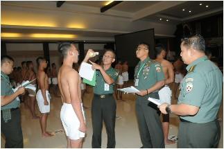 Pantukhir Catar Akmil, Pangdam Udayana: Tidak Ada Lagi Istilah Titipan, KKN dan Pungli