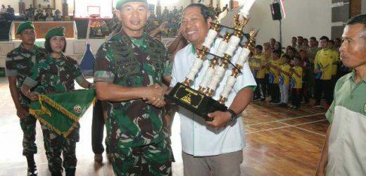 Tutup Kejuaraan Hut ke-62 Kodam IX/Udayana, Pangdam Udayana: Pacu Semangat Berlatih Raih Prestasi Lebih Tinggi