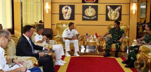 Terima Kunjungan Armada Pasifik Amerika Serikat, Panglima TNI Dukung Pengamanan Maritim di Indo Pasifik