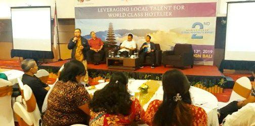 1st Annual Hotelier Summit Indonesia 2019, Ramia Adnyana: Siapkan Rumah Besar Bagi Pekerja Pariwisata Berdaya Saing Global