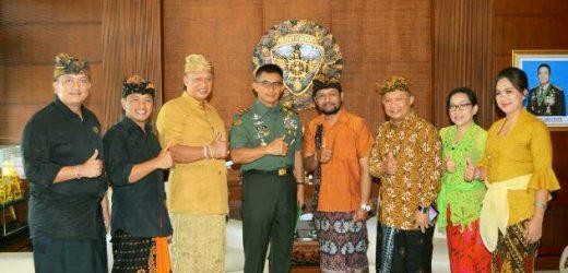 Pangdam IX/Udayana Dukung Pelaksanaan Gema Perdamaian Tahun 2019
