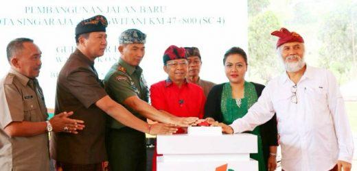 Ground Breaking Shortcut Mengwitani-Singaraja, Gubernur Koster: Prioritas Bangun Infrastruktur Terintegrasi