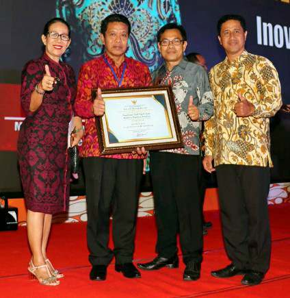 Sipadu Provinsi Bali Raih Penghargaan Inovasi Pelayanan Publik