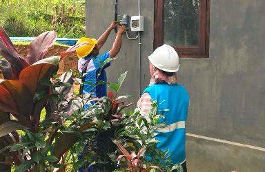 Sambung Baru di Basangtamian, PLN Pastikan Seluruh RT di Bali Selatan Berlistrik