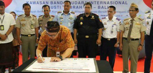Ciptakan Wilayah Bandara Bebas Korupsi, Instansi Komunitas Bandar Udara Deklarasikan Pembangunan Zona Integritas Kawasan
