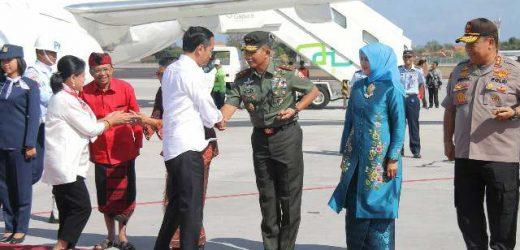 Pangdam IX/Udayana Pastikan Kunker Presiden Jokowi di Bali Aman, Lancar, dan Sukses