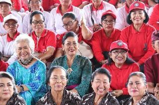 Hut ke-31 YWS, Ny. Putri Suastini Koster: Lansia harus Diberdayakan Bukan Dipinggirkan