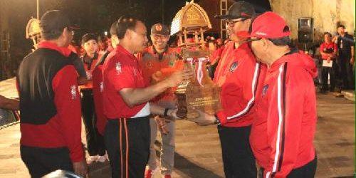 Sekda Tutup Porprov Bali ke-14, Kabupaten Badung Juara Umum