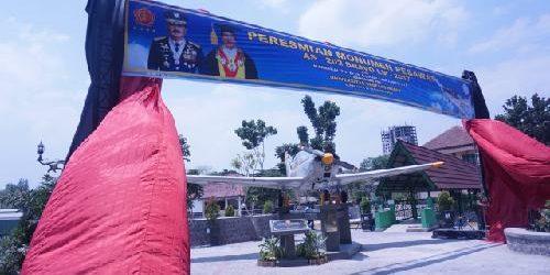 Resmikan Monumen Pesawat AS-202 Bravo LM – 2017, Panglima TNI: Pesawat ini Berjasa Melatih Ratusan Pengawal Dirgantara Nusantara