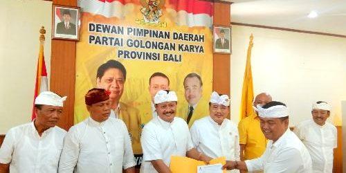 I Made Subrata, Kader PDIP Hijrah ke Golkar, Plt. Golkar Bali Sumarjaya Linggih: Selamat Datang di Rumah Bersama