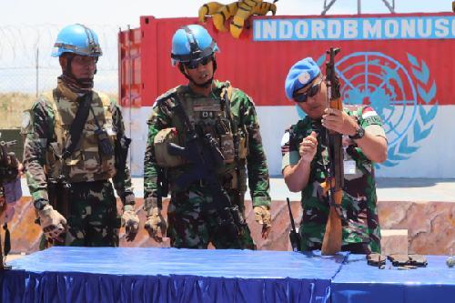 Satgas RDB Kembali Amankan Senjata dan Puluhan Munisi