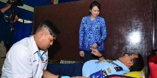 Donor Darah Korpri Unit TNI AL Berhasil Kumpulkan 315 Kantong Darah