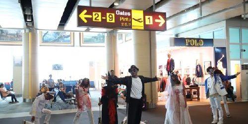 """Halloween Trip & Treat"" di Bandara Internasional I Gusti Ngurah Rai"