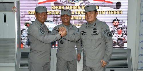 Kombes Pol. Leonidas Braksan Jabat Kepala Kantor Kamla Zona Maritim Tengah