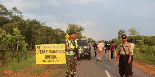 Operasi Timpora Amankan 3 Warga Negara Papua Nugini