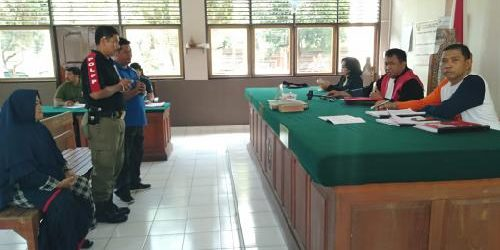Pemilik Usaha Sablon Batik itu, Diganjar Denda Rp.2 Juta