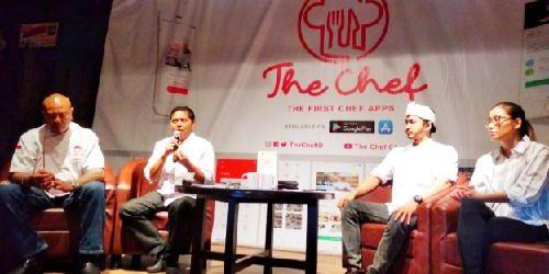 """Butuh Informasi Seputar Dunia Kuliner, Download Aplikasi """"The Chef"""""""