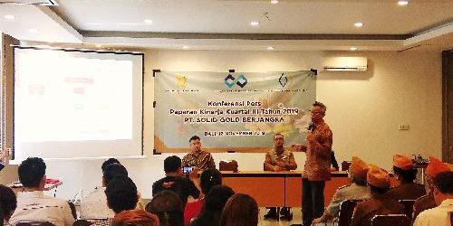 Kinerja Kuartal III Tahun 2019, PT Solid Gold Berjangka Cetak Rapor Biru, Bukukan Pertumbuhan Volume Transaksi 354.271 Lot