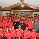 """Bali Kirim 101 Atlet di POPNAS XV, Wagub Cok Ace: """"Jaga persatuan dan sportivitas"""""""