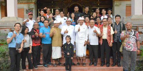 """FORMI Bali Bertolak ke Kaltim Ikuti FORNAS V, Wagub Cok Ace: """"Jaga persatuan dan persahabatan"""""""