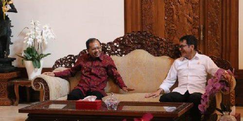 """Menpar Ekraf Bertemu Gubernur Koster, Wishnutama: """"Bali punya adat dan budaya"""""""