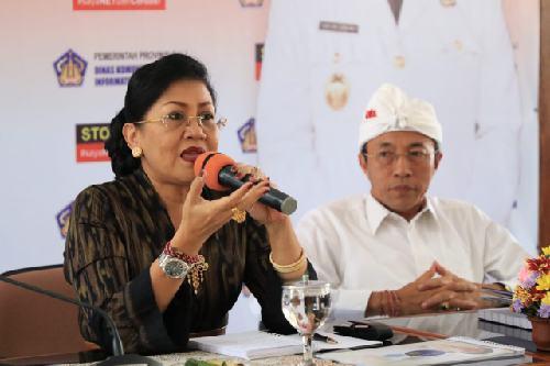 "Ny. Putri Suastini Koster: ""Semua pihak sinergi atasi stunting"""