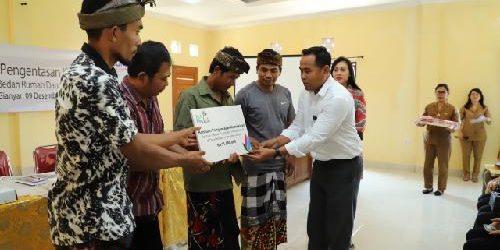 Berkat PLN Peduli, Keluarga Dauh Wardika Kini Tempati Rumah Layak Huni