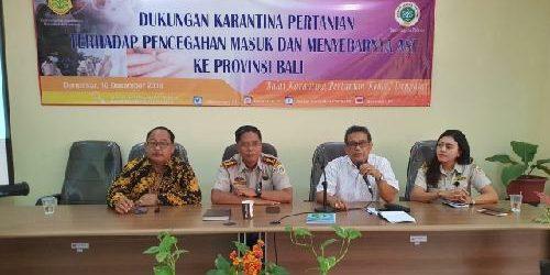 "Karantina Pertanian Denpasar ""Rapatkan Barisan"", Susun Langkah Antisipatif Cegah Flu Babi Masuk ke Indonesia"