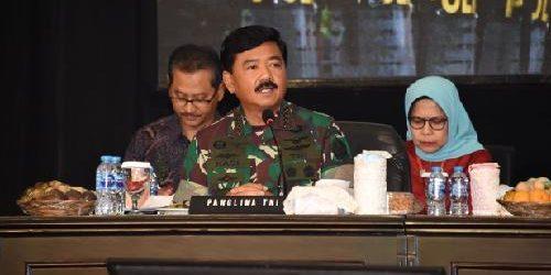 "Rakor Lintas Sektoral Jelang Operasi Lilin 2019, Panglima TNI: ""Jaminan keamanan jadi poin penting"""