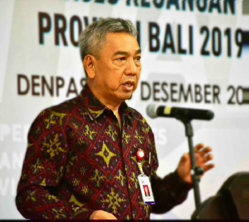 """Indeks Inklusi Keuangan Bali Diatas Nasional, Elyanus Pongsoda: """"Masyarakat jangan terjebak investasi ilegal dan rentenir"""""""