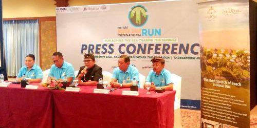 1.200 Pelari Dalam dan Luar Negeri akan Ikuti Mandiri Nusa Dua International Run 2019
