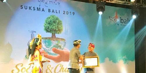 "Raih Penghargaan Suksma Bali Award 2019 dan ITTA, Gusde: ""Semakin kuat mendorong saya memajukan pariwisata"""