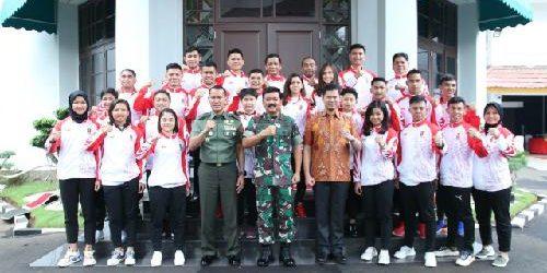 Panglima TNI Pompa Semangat Juang Timnas Karate Indonesia SEA Games 2019